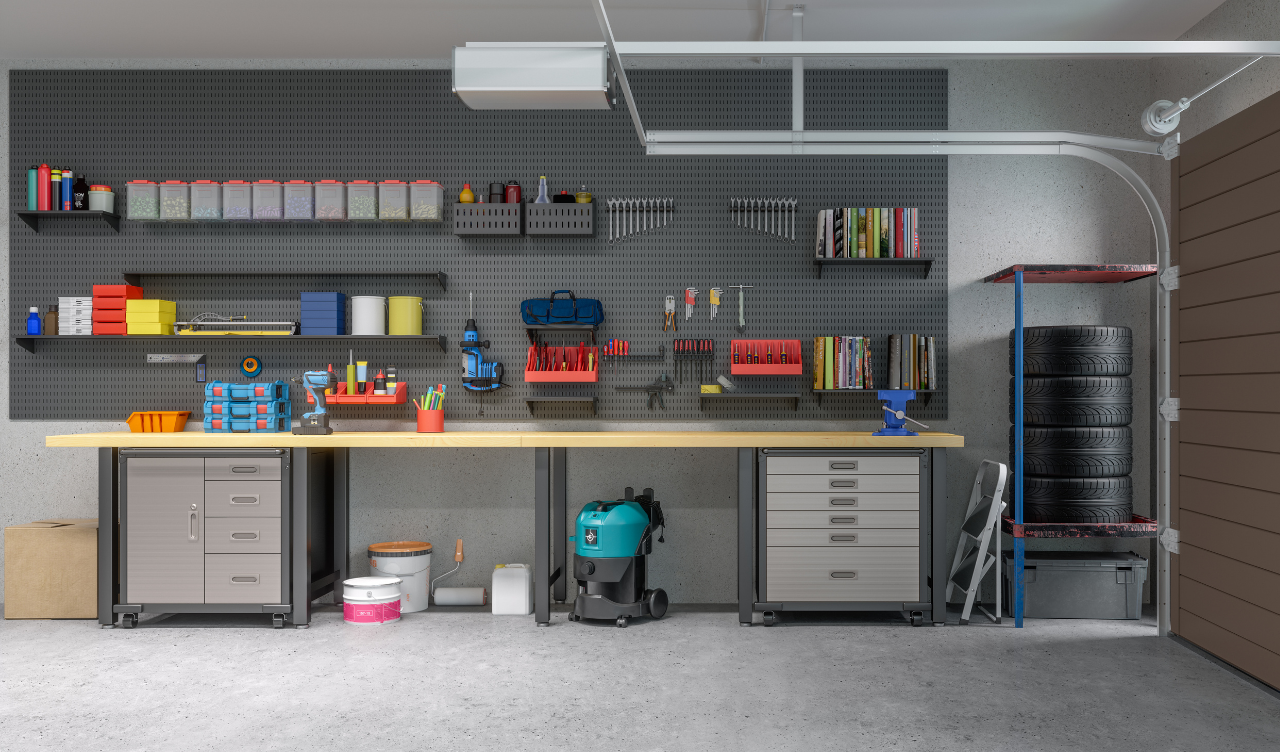 6 Clever Ways To Organize Your Garage